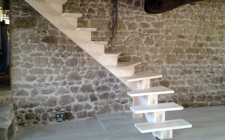 Fabrication d'escaliers